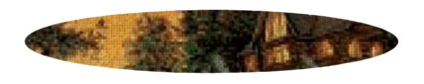 Kits de punto de cruz 50 colores de Paisajes